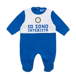 Inter - boy baby romper