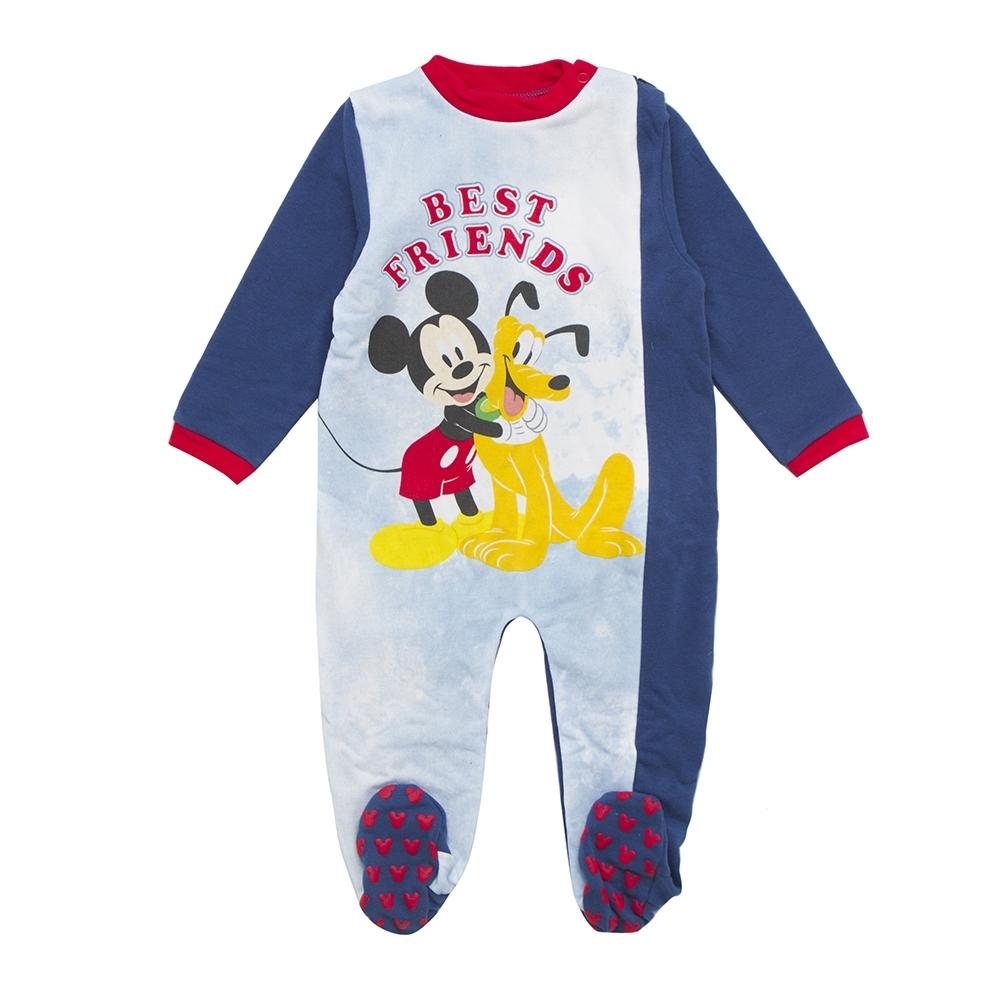 Walt Disney Boy Baby Romper Blue Ink 12 Months Arnetta