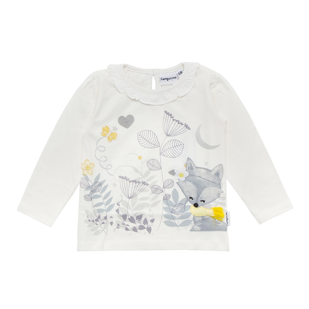 girl t-shirt, off white, 36 mesi