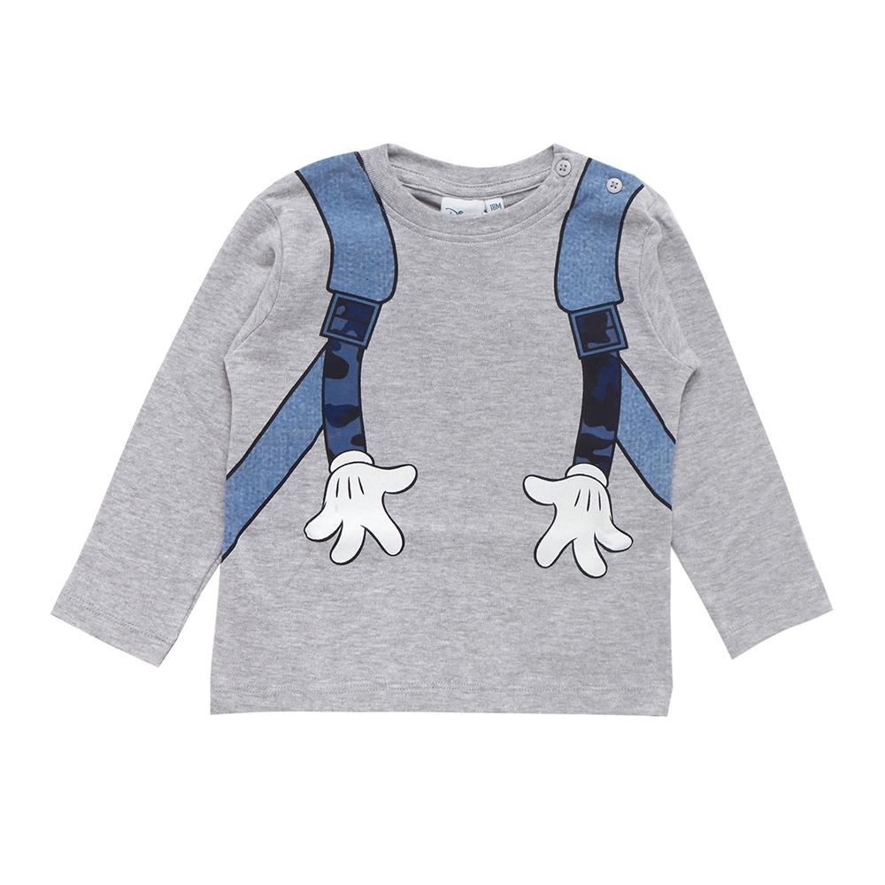 boy t-shirt, melange grey, 12 mesi