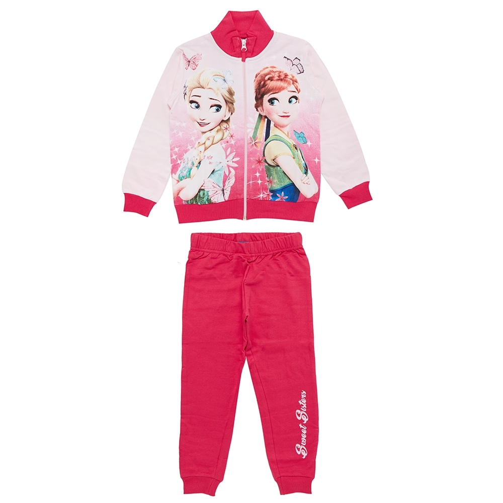 girl set, fuxia, 3 anni
