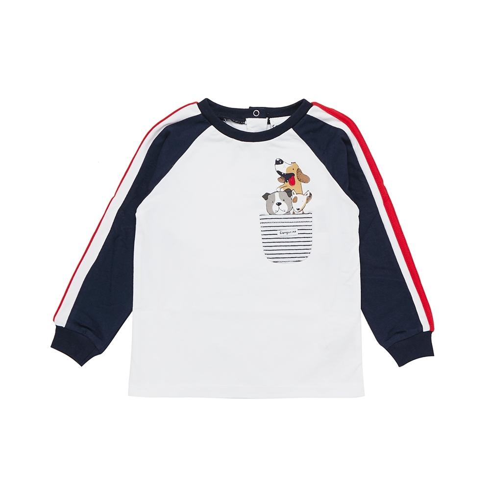 f358ee58ca linea cangurino boy t-shirt navy blue 24 months - Arnetta