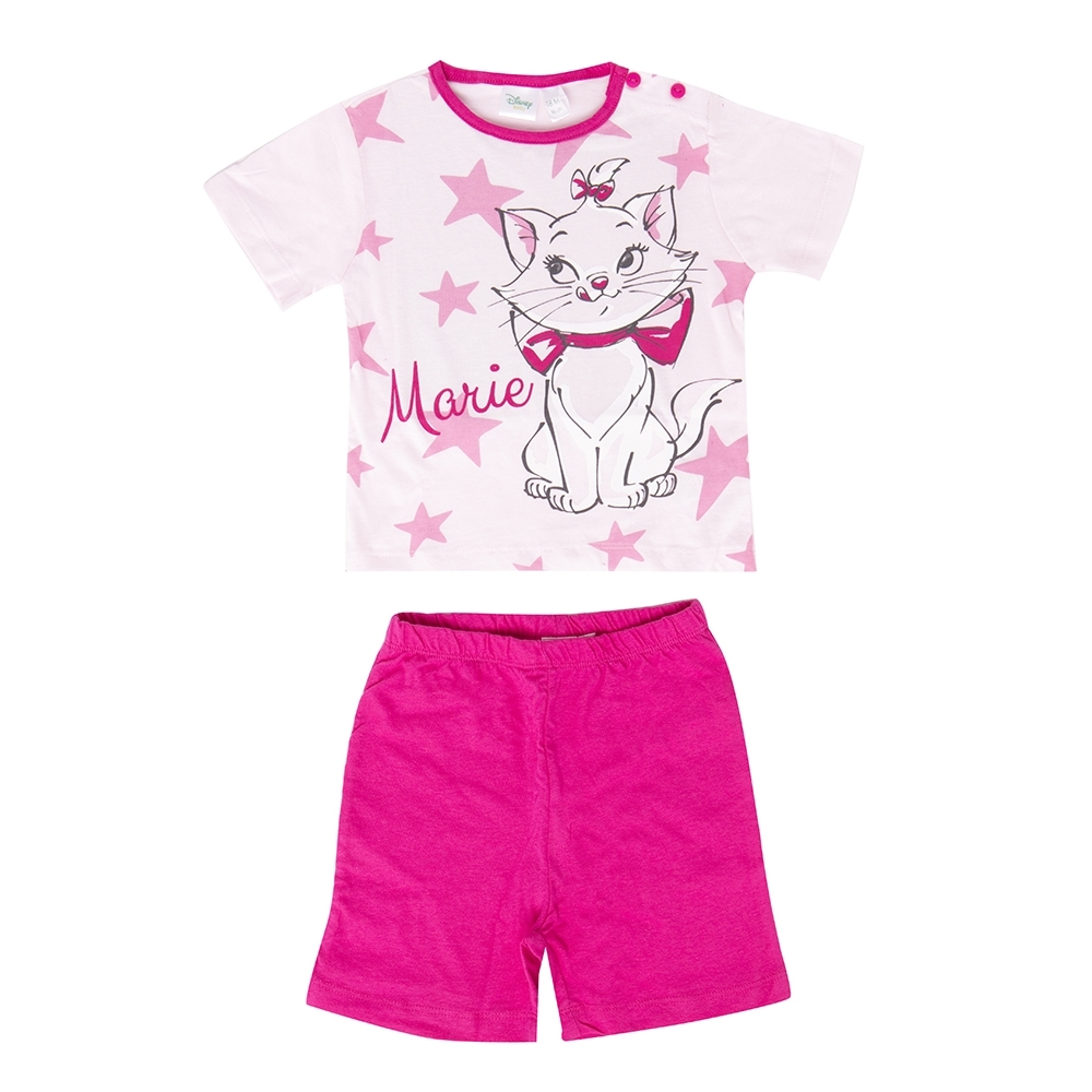 girl pyjama, fuxia, 12 mesi