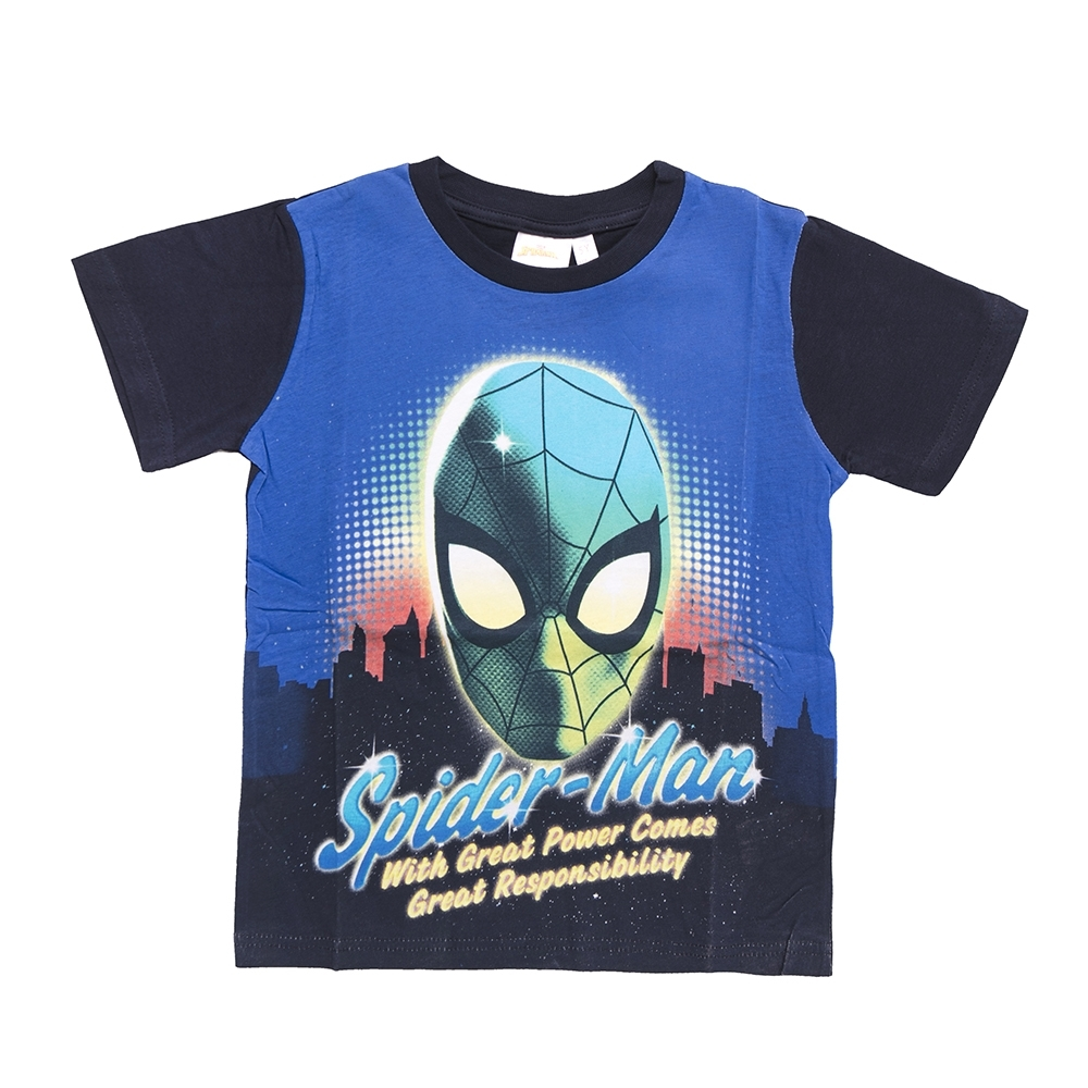 boy t-shirt, navy blue, 6 anni