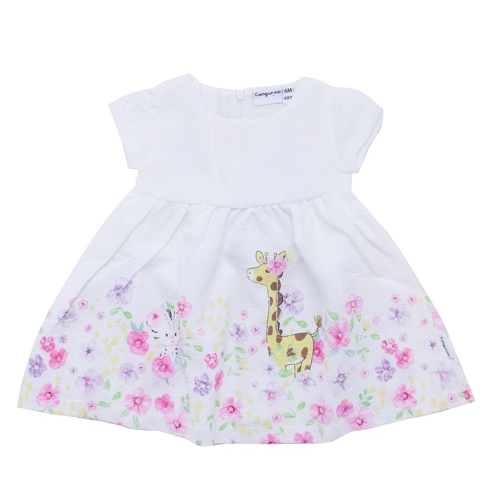 dress girl, white, 6 mesi