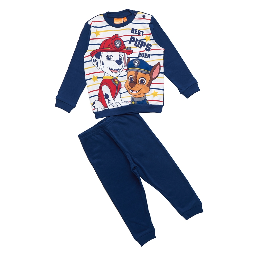 boy pyjama, navy blue, 24 mesi